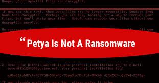 Petya Randsomware