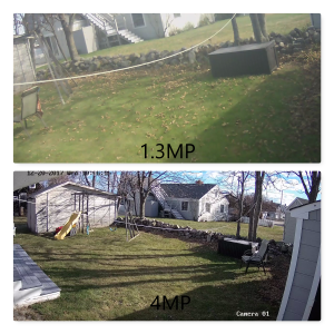 IP camera upgrade