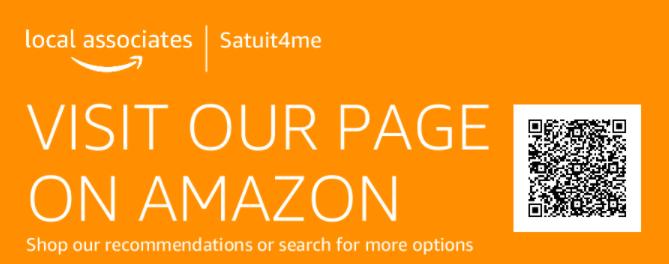Amazon Store for Satuit4me